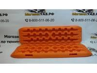 Сэнд-трак(Sand Ttrack) пластиковый 110 см (комплект 2 шт.) Оранжевый усиленный (модель 2) до 10т СУМКА