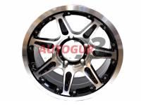 Диск колесный литой УАЗ 16x8 ET 0 5x139.7 DIA 110.1 PATRIOT CITY-7 Глянцевый черный